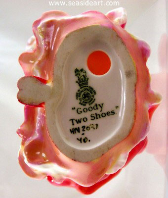Goody Two Shoes by Royal Doulton - Seaside Art Gallery