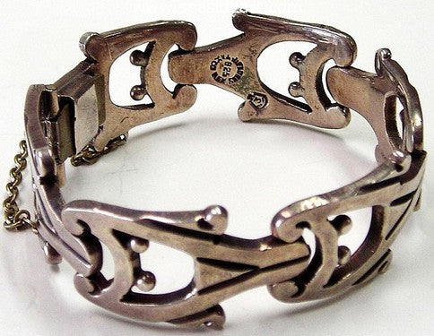 Mexican Sterling Silver Bracelet - Flores by Jewelry - Seaside Art Gallery