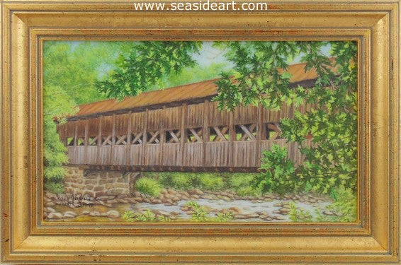 Bridge To The Past by Beverly Abbott - Seaside Art Gallery