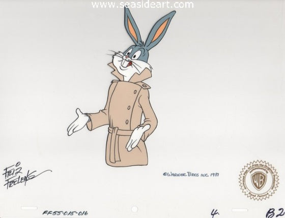 Looney, Looney, Looney Bugs Bunny Movie–Bugs Bunny by Warner Brothers Studios - Seaside Art Gallery