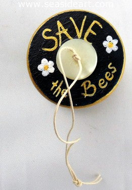 Save the Bees Ornament