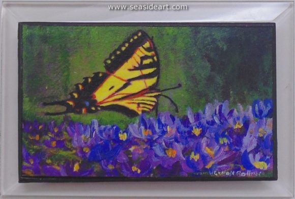 Butterfly by Vernon Rollins - Seaside Art Gallery