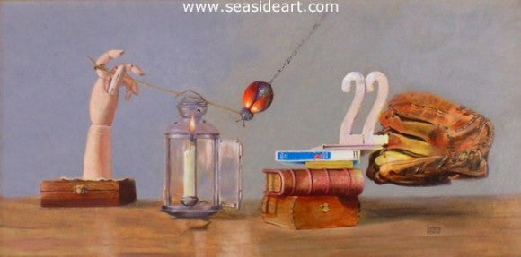 Catch 22 by Debra Keirce - Seaside Art Gallery