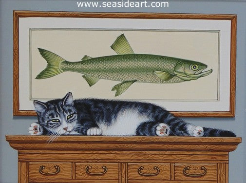 Dreaming of Fish by Sue Wall - Seaside Art Gallery