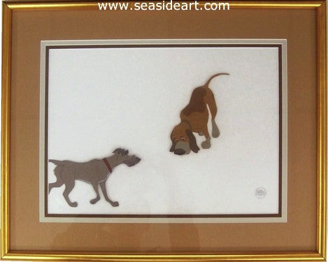 The Fox and the Hound-Copper and Chief by Walt Disney Studios - Seaside Art Gallery