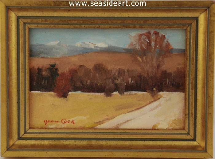 Colorado Mountain Snows by Jean Cook - Seaside Art Gallery