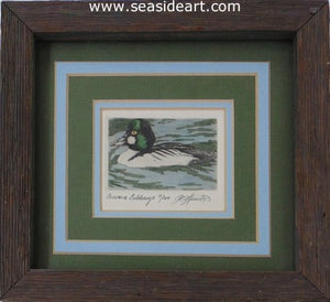 D-Common Goldeneye by David Hunter - Seaside Art Gallery