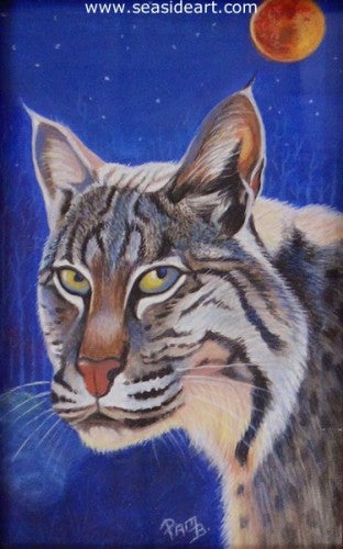 Confident Cat by Pamela Brown Broockman - Seaside Art Gallery