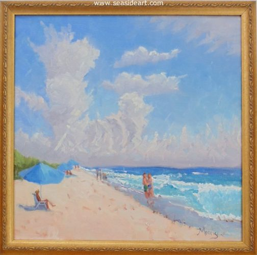 Day Off by Suzanne Morris - Seaside Art Gallery