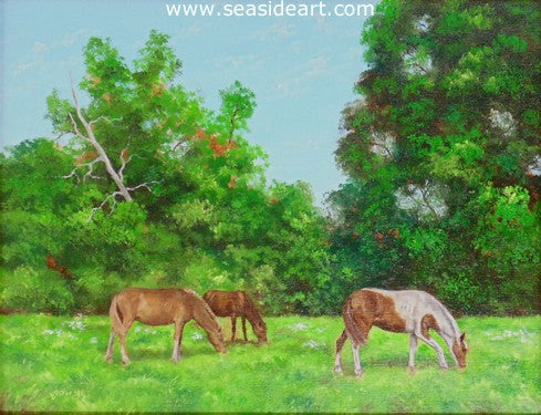 Dorsey And Friends by Bob Browne - Seaside Art Gallery