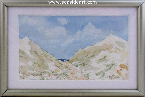 Dune Passage #12 by Roger Shipley - Seaside Art Gallery