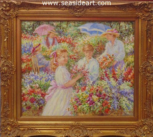 Flowers For Mother by Karin Schaefers - Seaside Art Gallery