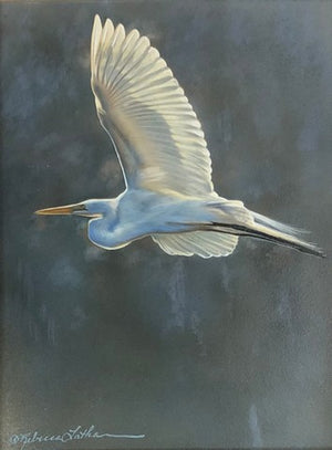Fly Over (Egret)
