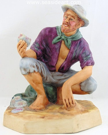 The Beachcomber by Royal Doulton - Seaside Art Gallery