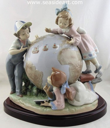 Voyage of Columbus by Lladro - Seaside Art Gallery