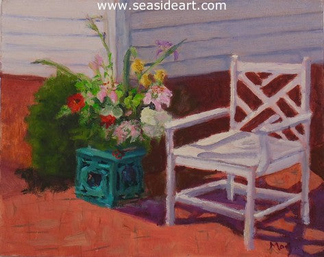 Garden Party by Suzanne Morris - Seaside Art Gallery