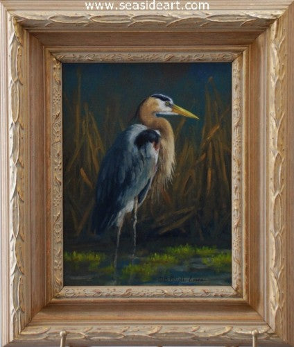 Great Blue by Beth Parcell Evans - Seaside Art Gallery