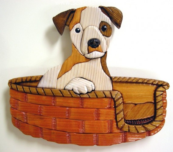 Jack Russell Pup by David Penosky - Seaside Art Gallery