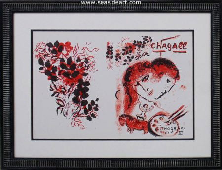 The Lithographs of Chagall III by Marc Chagall - Seaside Art Gallery