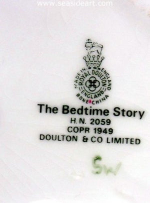 Bedtime Story by Royal Doulton - Seaside Art Gallery