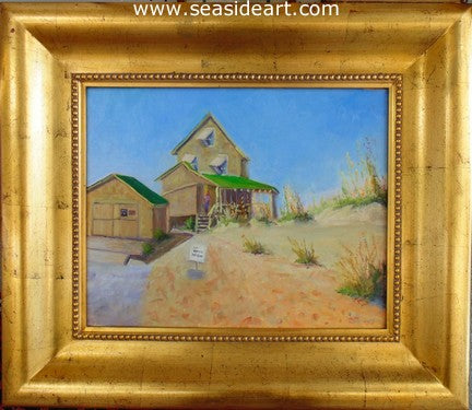 No Beach Access by Suzanne Morris - Seaside Art Gallery