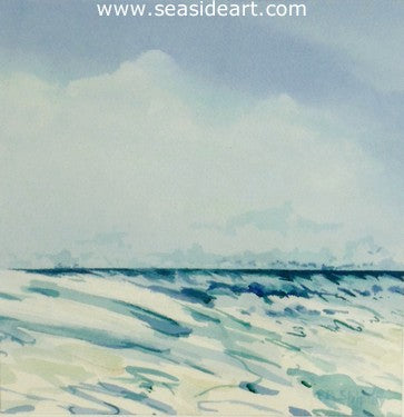 Ocean Scene #5 by Roger Shipley - Seaside Art Gallery