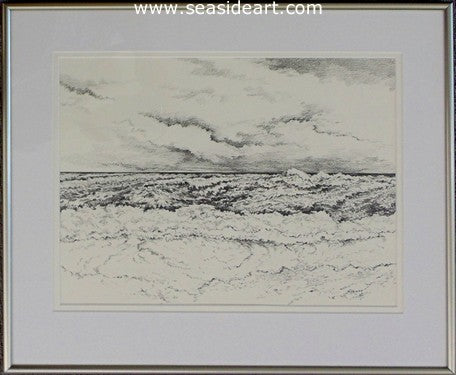 Ocean Surf #4 by Roger Shipley - Seaside Art Gallery