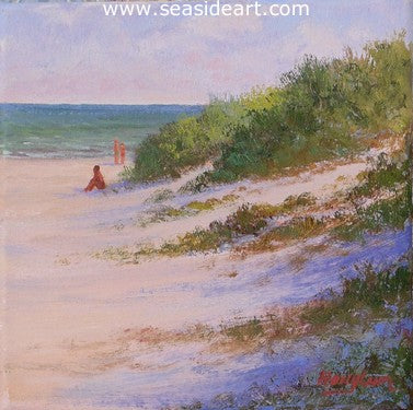 Outer Banks Dunes II by Jon Houglum - Seaside Art Gallery