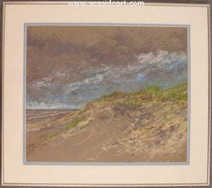 Pea Island Dunes by Roger Shipley - Seaside Art Gallery