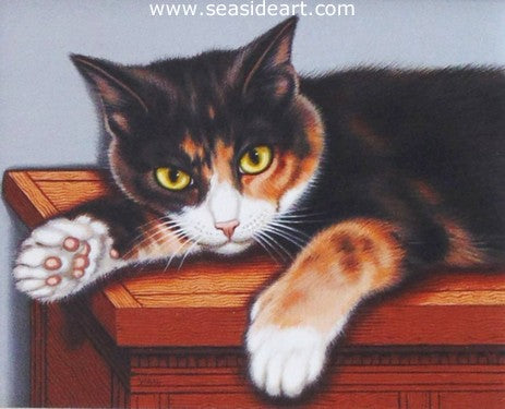 Pondering Mischief by Sue Wall - Seaside Art Gallery