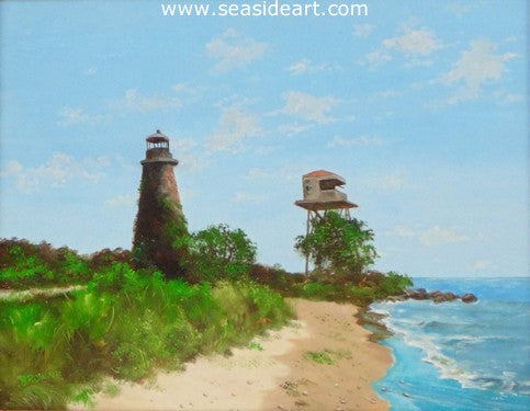 Pooles Island by Bob Browne - Seaside Art Gallery