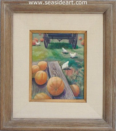 Pumpkins by Allan Jones - Seaside Art Gallery