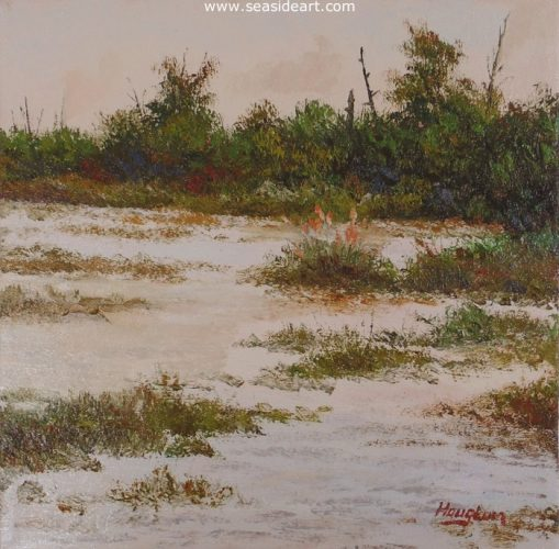 Sand Flats by Jon Houglum - Seaside Art Gallery