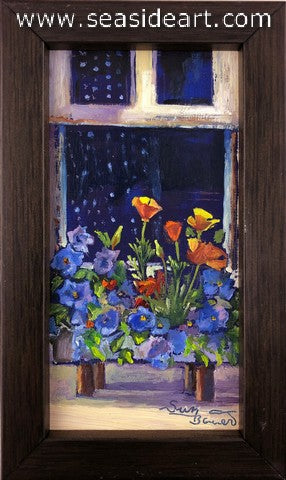 Bauer-Spring Flower by Window