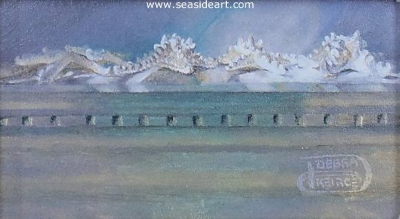 Starry Day by Debra Keirce - Seaside Art Gallery