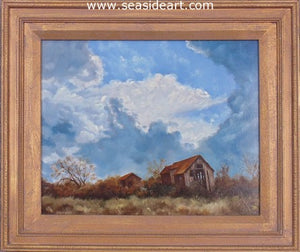 Storm Clouds by Bob Browne - Seaside Art Gallery
