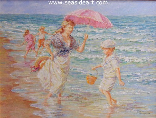 Summer Breeze by Karin Schaefers - Seaside Art Gallery