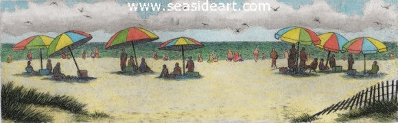 Summer Days by David Hunter - Seaside Art Gallery