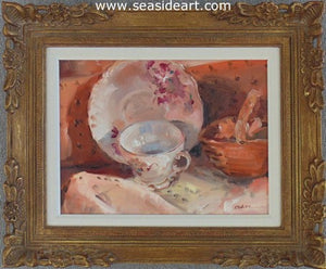 Tea Time by Gregory Kavalec - Seaside Art Gallery