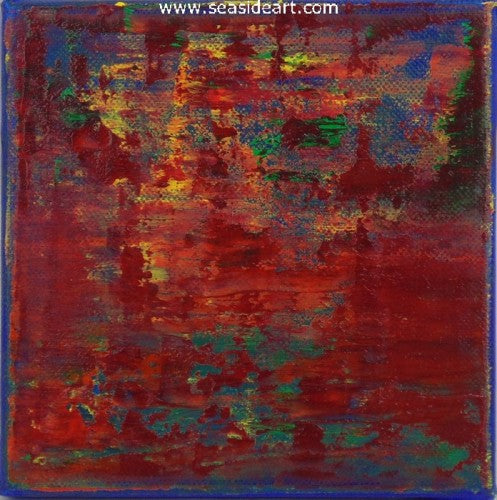 Untitled Red by Doug Brannon - Seaside Art Gallery