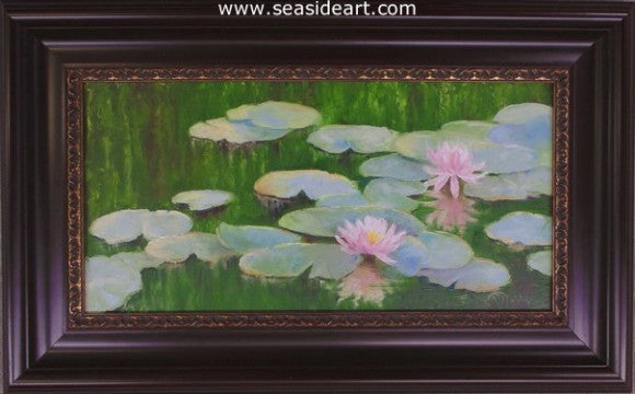 Water Garden by Alice Ann Dobbin - Seaside Art Gallery
