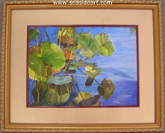 Waterlily by Sun Bauer - Seaside Art Gallery