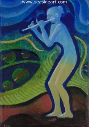 Tryptich: Horn, String & Woodwind by Chester Martin - Seaside Art Gallery