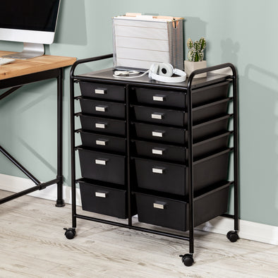 Storage Carts: Organization On Wheels