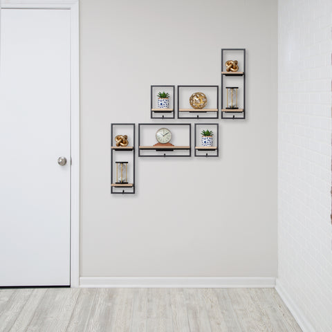 entryway shelves