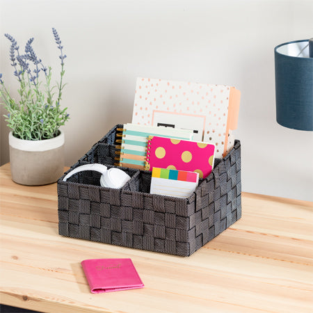 small desk supplies organizer