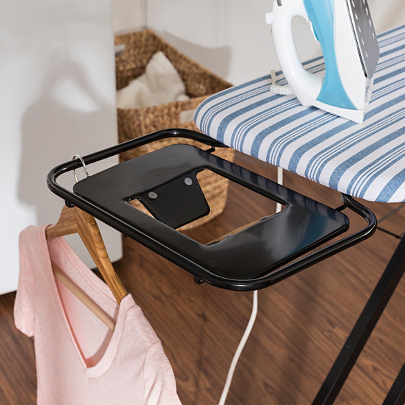Adjustable Deluxe Ironing Board with Iron Rest