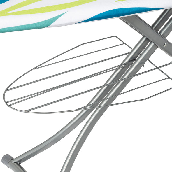 Collapsible Ironing Board with Iron Rest