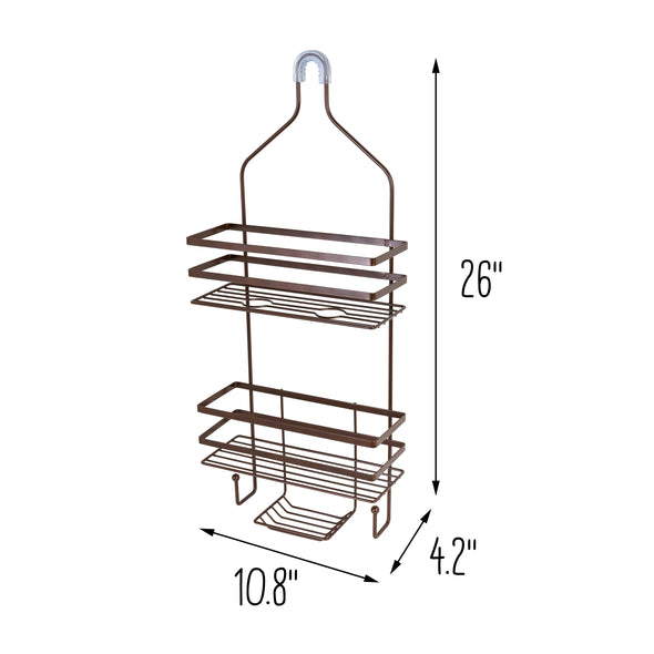 Hanging Shower Caddy, Oil-Rubbed Bronze