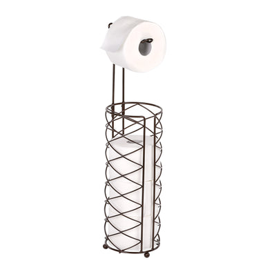 Freestanding Toilet Paper Holder, Oil-Rubbed Bronze